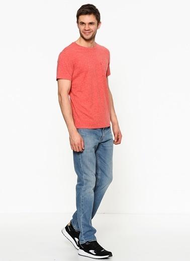 Levi's® Desenli T-Shirt Kırmızı